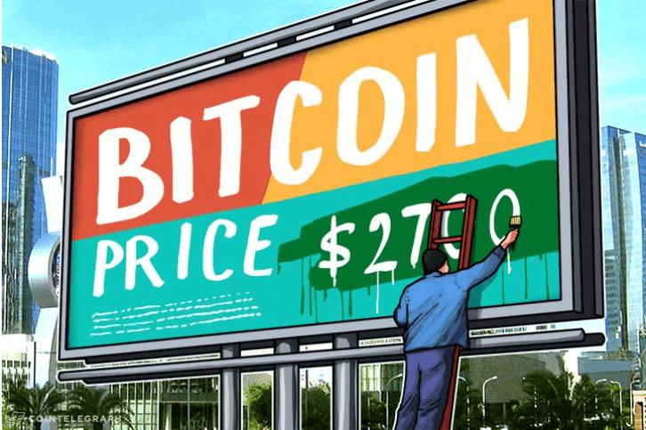 биткоин цена 2700