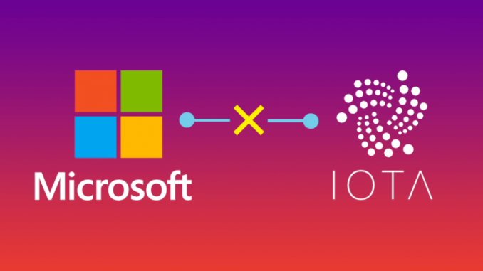 IOTA Microsoft