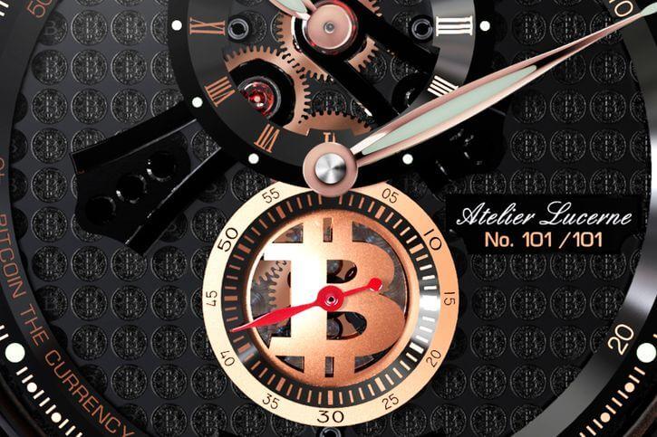 биткоин часы
