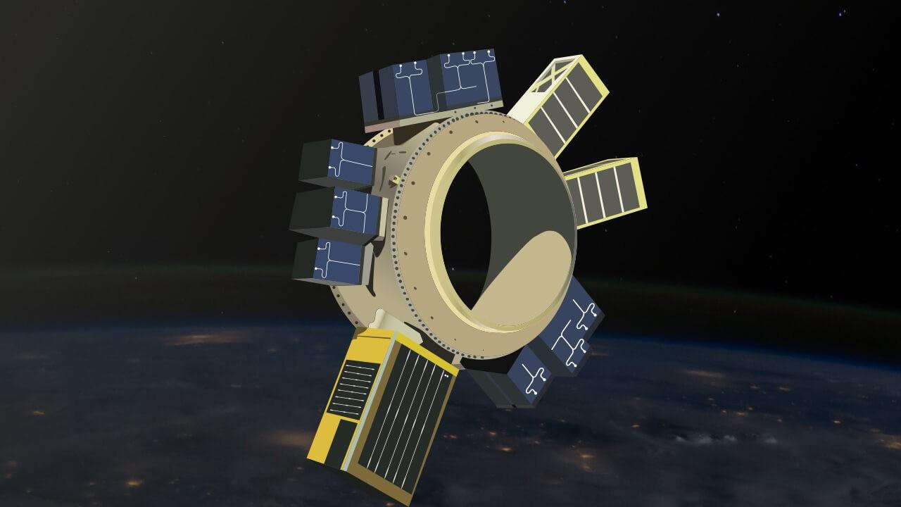 Qtum запустила космический спутник с блокчейн узлом