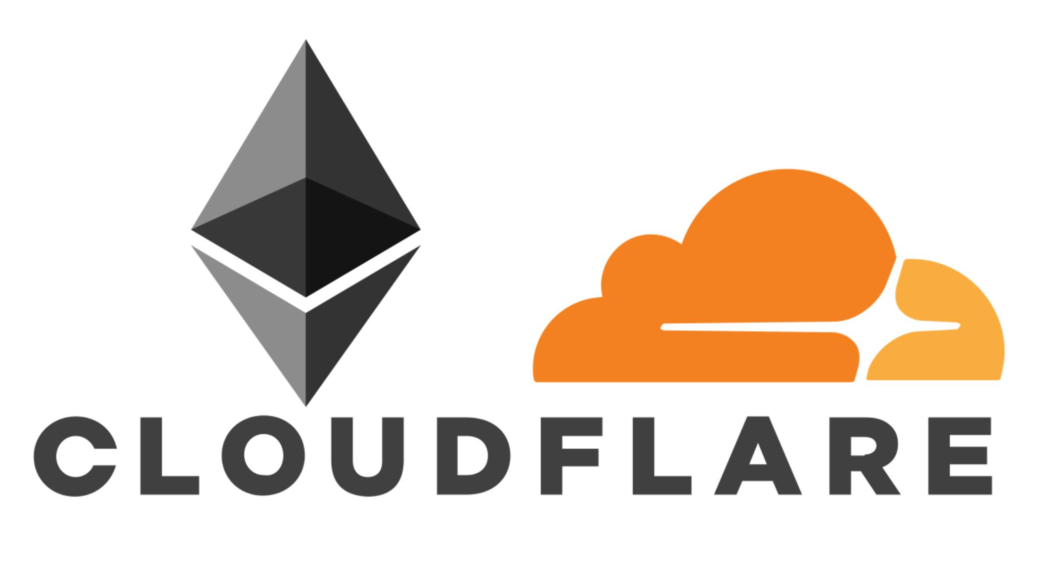 Cloudflare ethereum