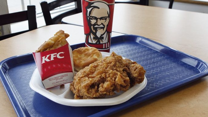 KFC принимает платежи в Dash