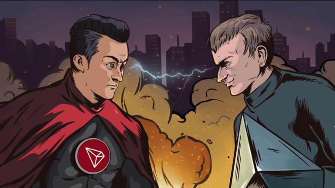 Tron-vs-ethereum