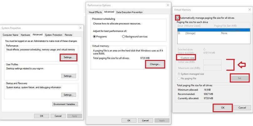 virtual-memory-settings