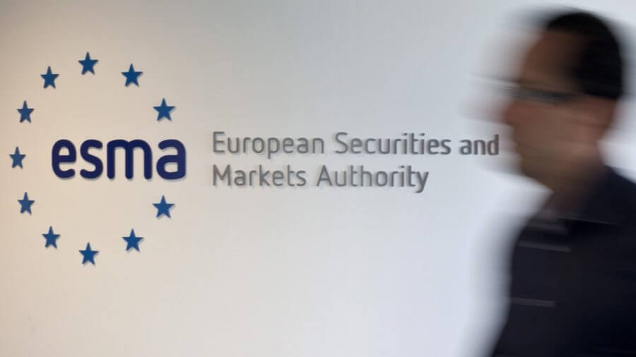 rench Financial Regulator AMF And European Securities Markets Authority Headquarters