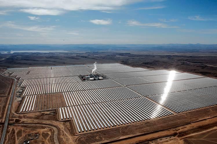 Solar Bitcoin Mining Farm