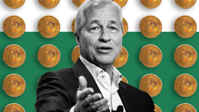 bitcoin JP Morgan