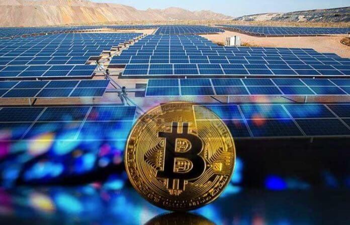 Bitcoin-Mining-and-Renewable-Solar-Power-Energy