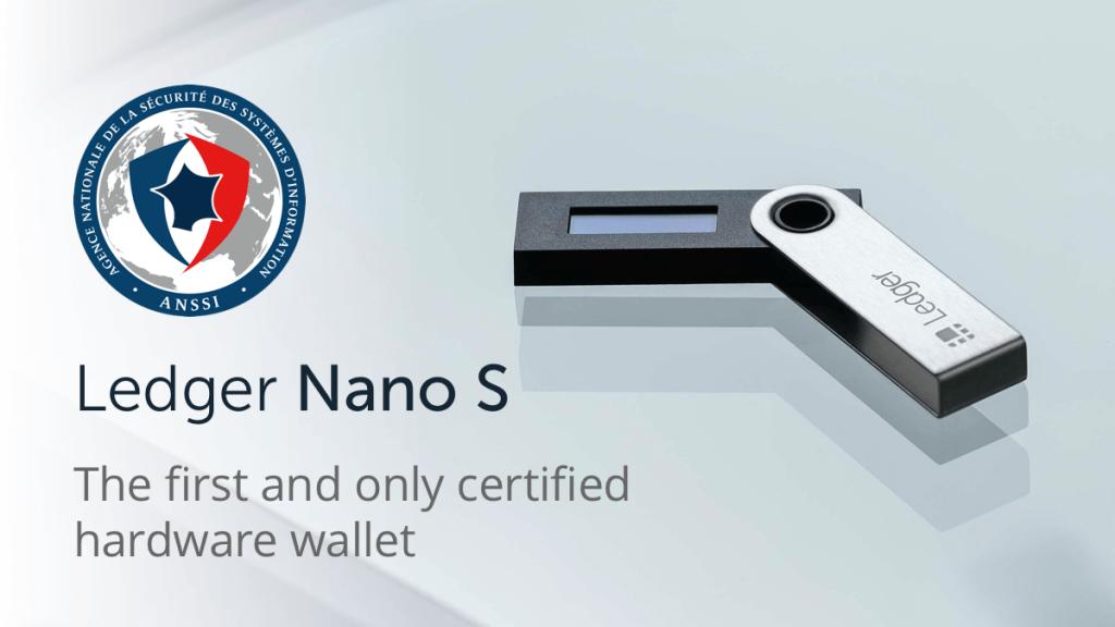 Nano-S-ledger