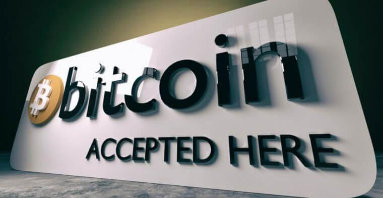 bitcoin accept here