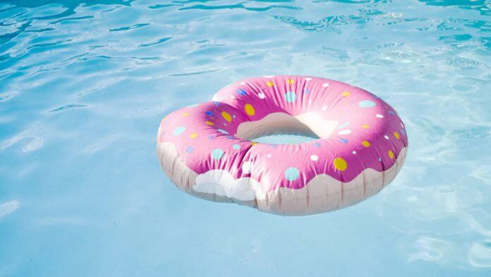 pool-with-donut-floating