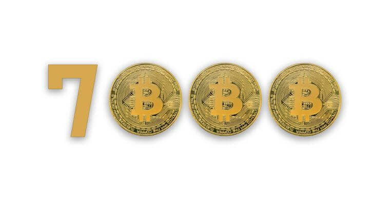 bitcoin price 7000