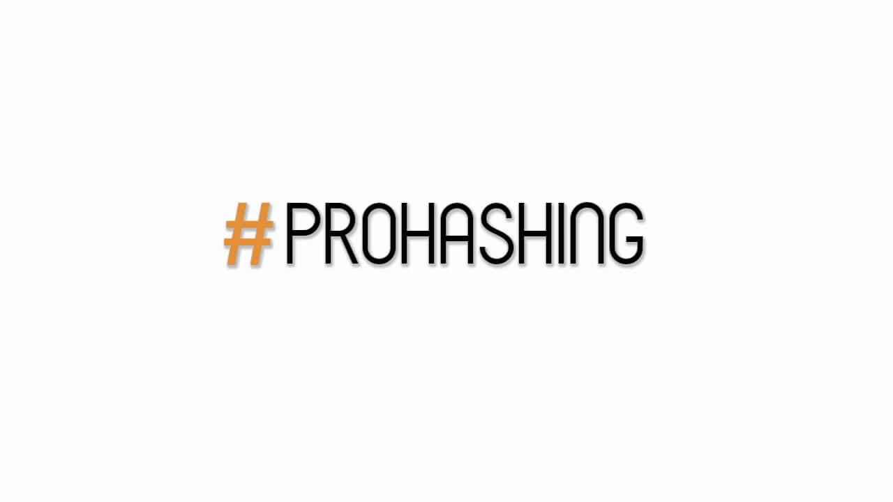 Prohashing
