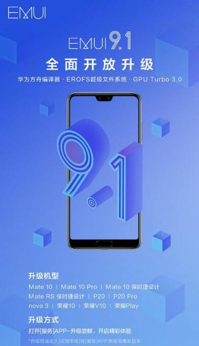 EMUI-9.1-Update-For-Huawei-and-Honor 11