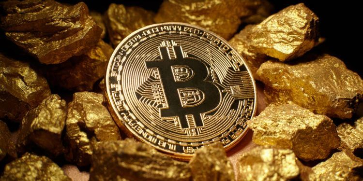 Gold-ore-bitcoin