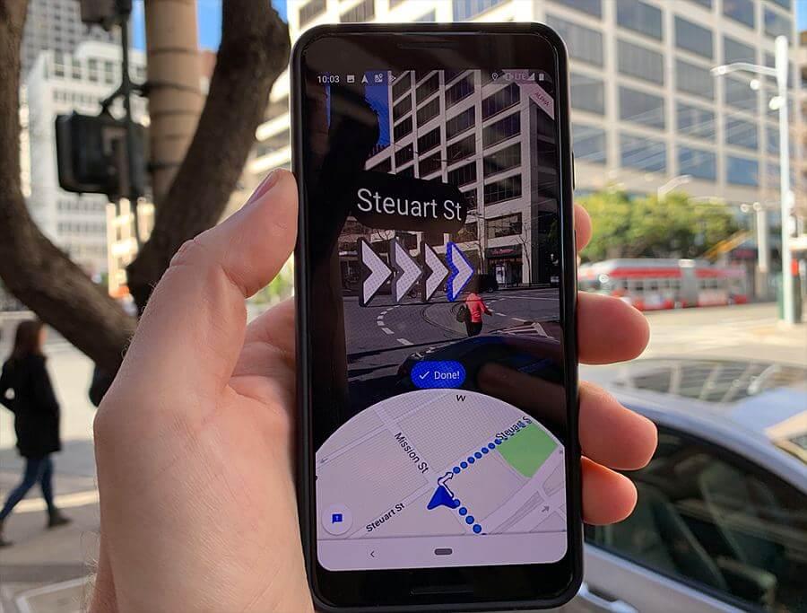 Google-Maps-AR-mode