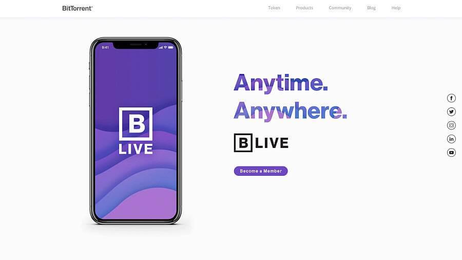 BLive BitTorrent