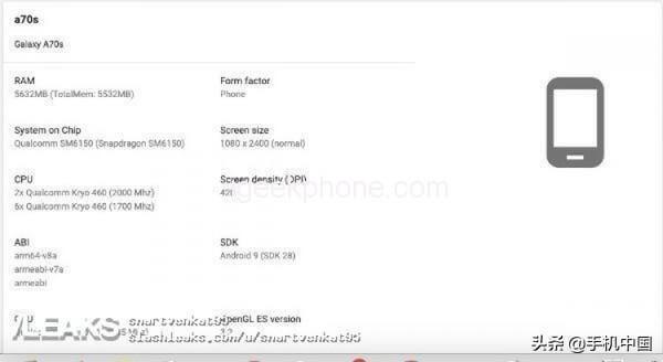 Samsung-A70S