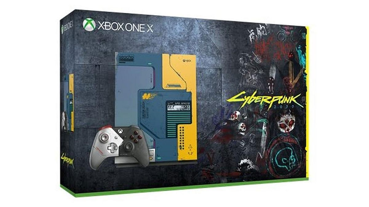 Cyberpunk-themed Xbox