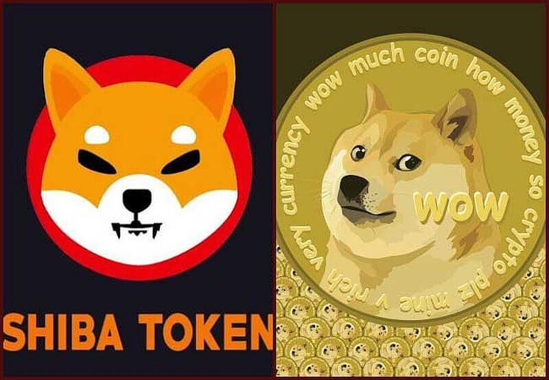 Рост биткоина поддержал уверенный подъём Dogecoin и Shiba Inu