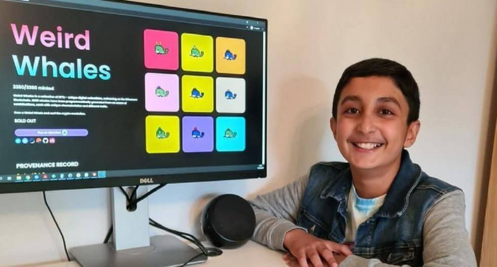 12-летний британец заработал на NFT $ 400000 в Ethereum
